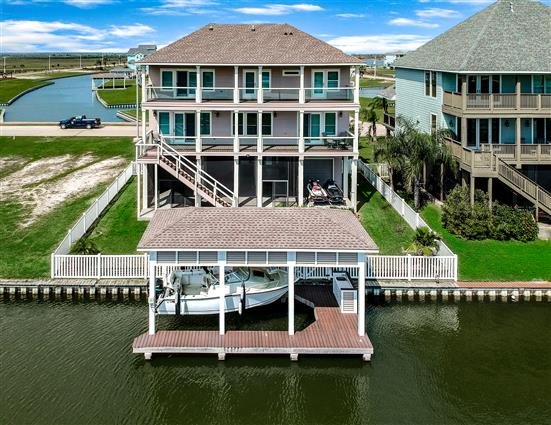 aerial photography for Corpus Christi, TX real estate