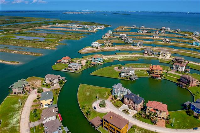 best aerial photography for Corpus Christi, TX real estate
